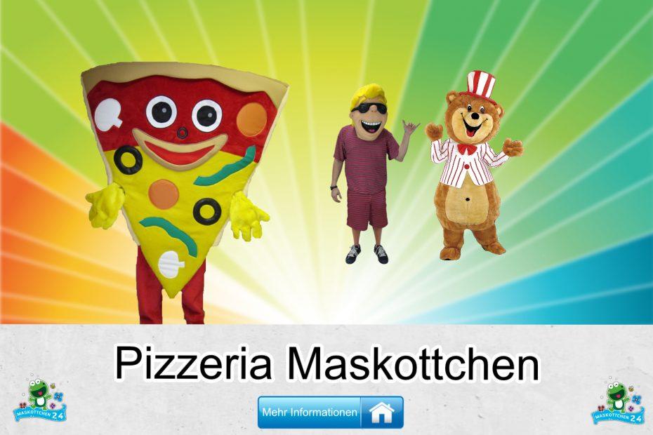 Pizzeria Kostüme Maskottchen Karneval Produktion Firma Bau
