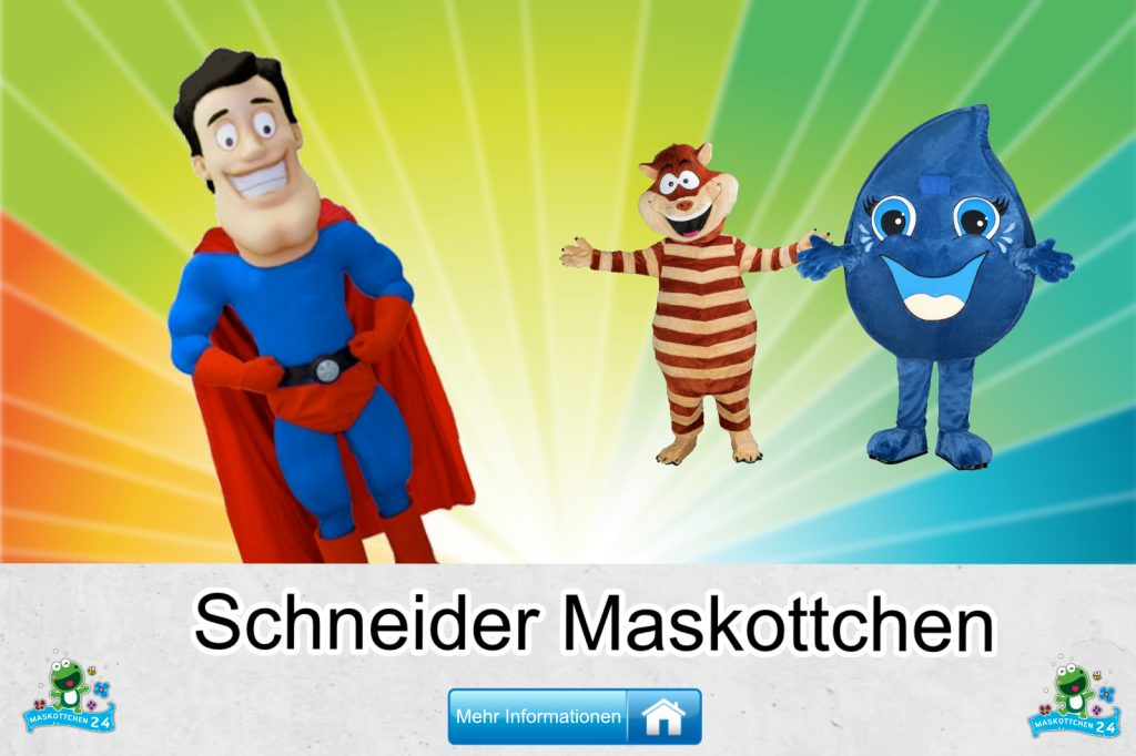 Schneider-Kostueme-Maskottchen-Karneval-Produktion-Firma-Bau