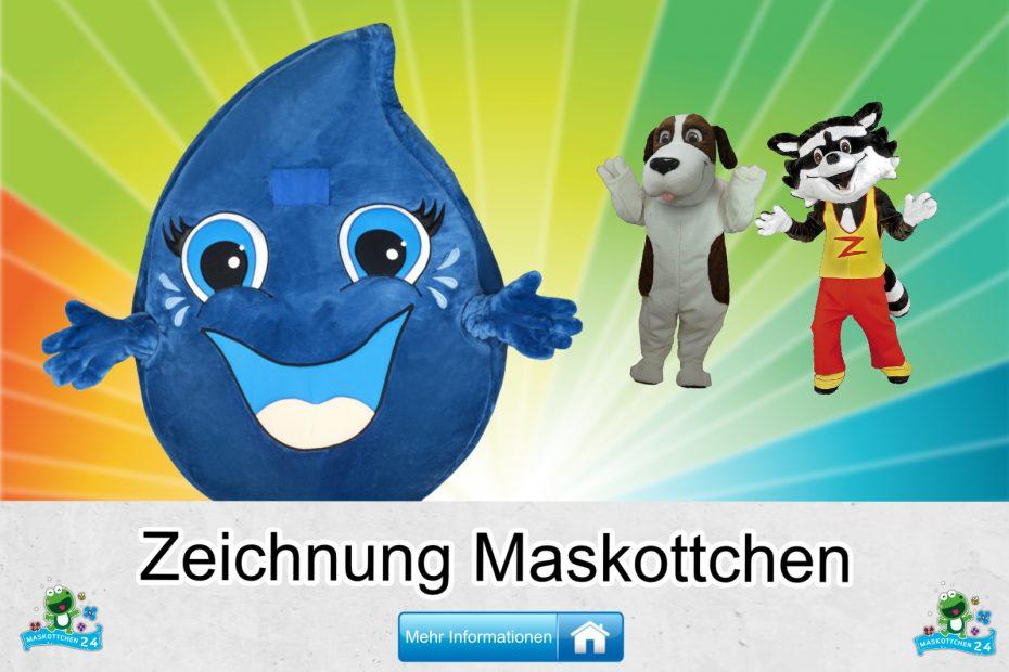 Zeichnung-Kostueme-Maskottchen-Karneval-Produktion-Firma-Bau